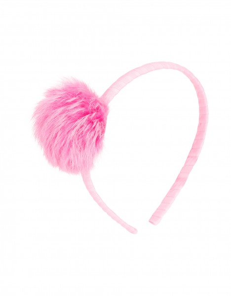 Galia headband - bright pink