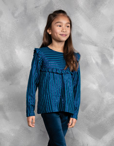 Pernille blouse - blauw