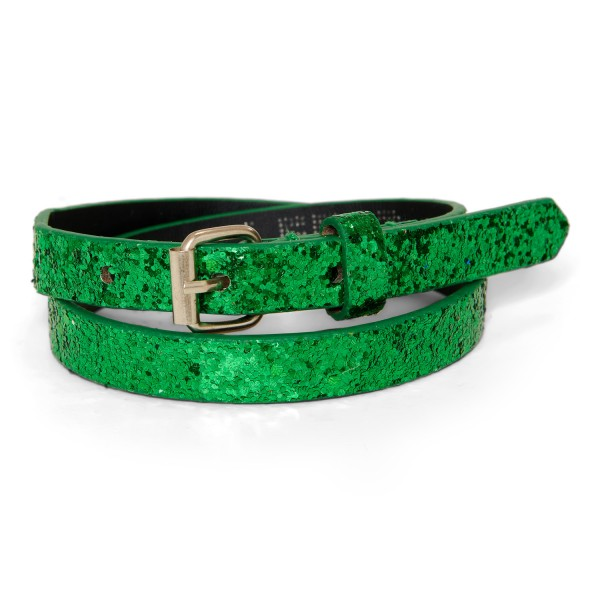 Sparkle belt - grass green