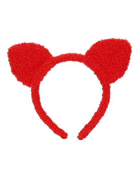 Paulina hairband - red