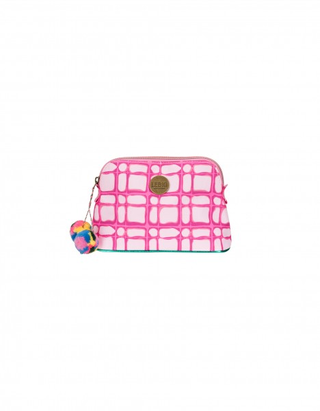 Amsterdam cosmetic bag small - bright pink