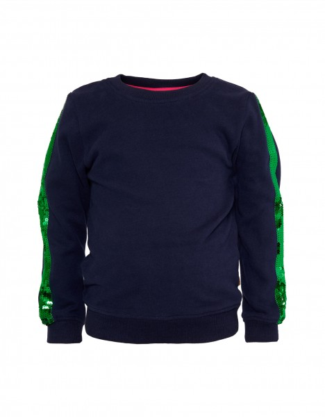 Patty sweatshirt - donkerblauw