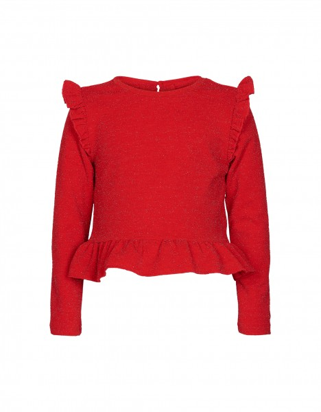 Paige top - rood