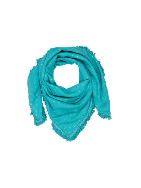 Ivy scarf - turquoise