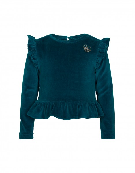 Phallon top - dark green