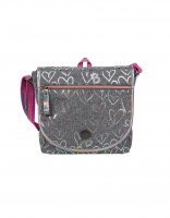 Bali shoulder bag - grey