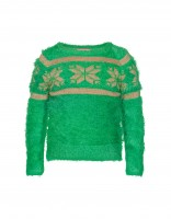 Ice star sweater - green