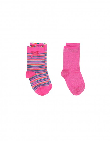 Kyleen socks - bright pink