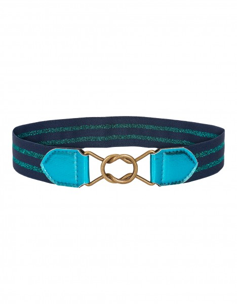 Pansy belt - blue