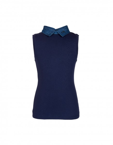 Pauleen top - dark blue