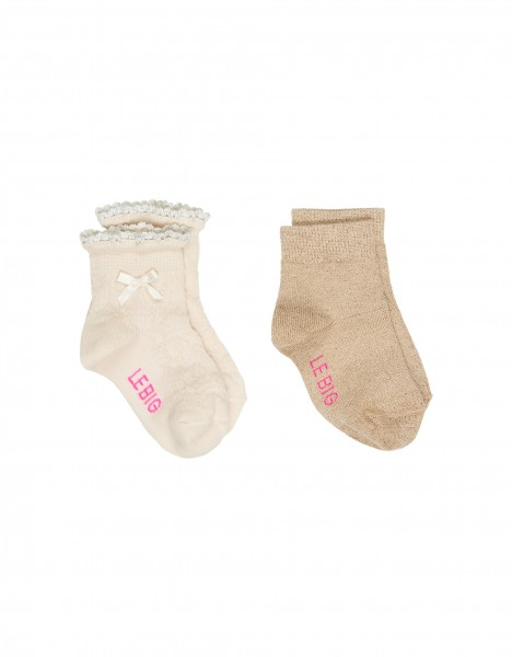 Macy sock - off white