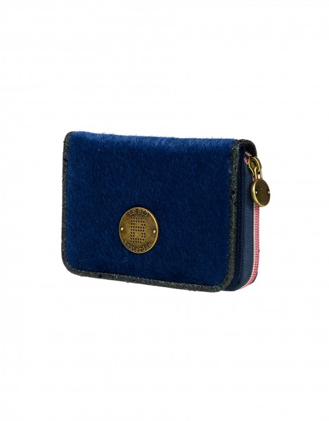 Milan wallet - dark blue