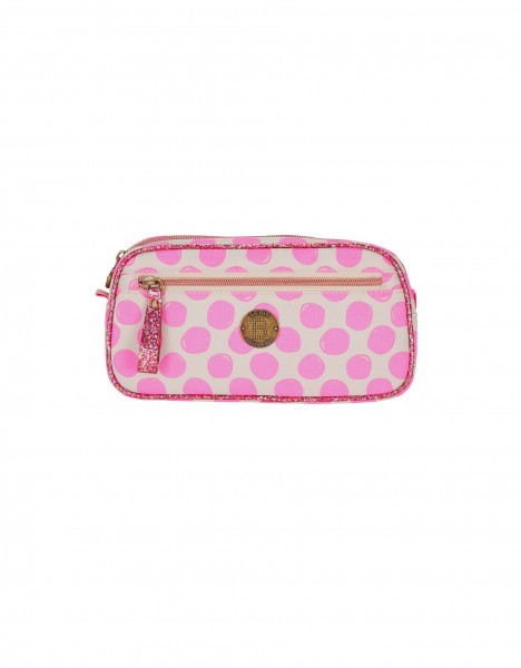 London pencil case - bright pink