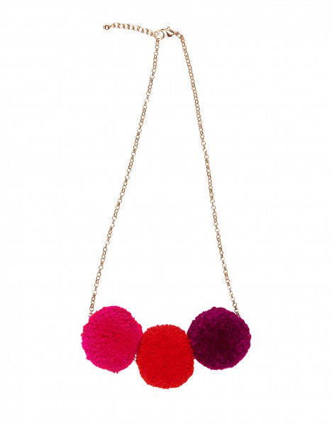 Pooky necklace - red