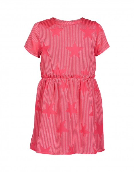 Nura dress - bright pink