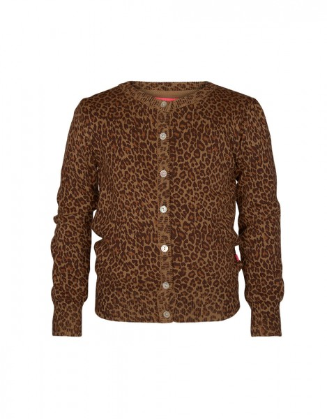 Kathy cardigan - lovely leopard