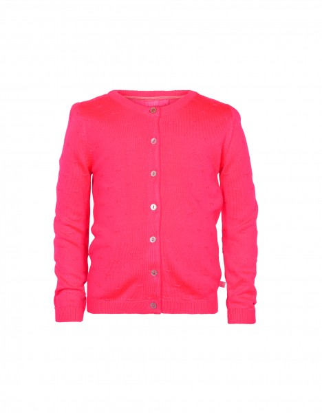 Nola cardigan - bright pink