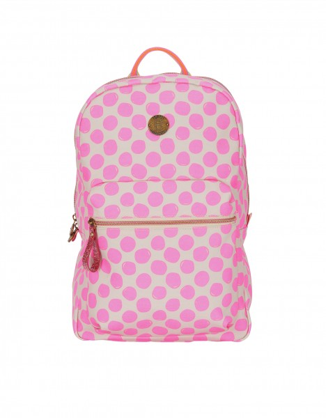 Perth backpack - bright pink
