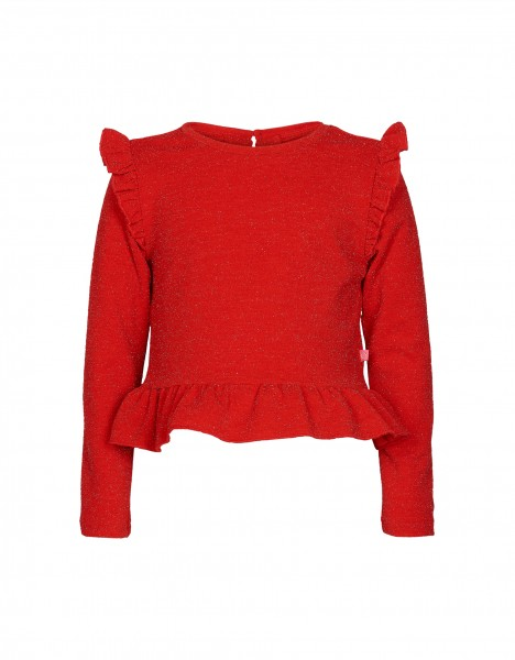 Paige top - red