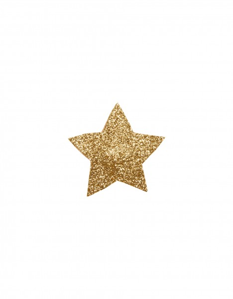 Lizzy hairclip - gold