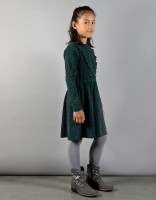 Paige dress - dark green