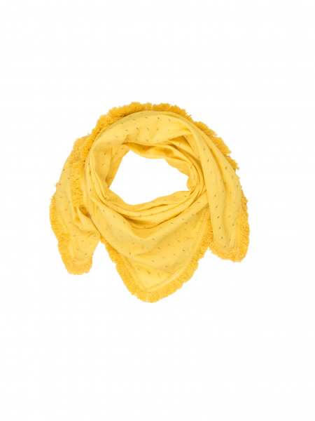 Ivy scarf - yellow