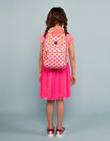 Lima backpack - bright pink