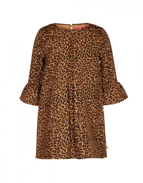 Kiki dress - lovely leopard