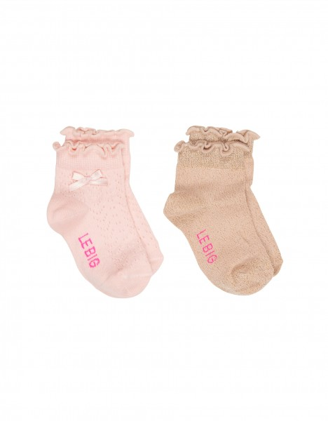 Mia sock - light pink