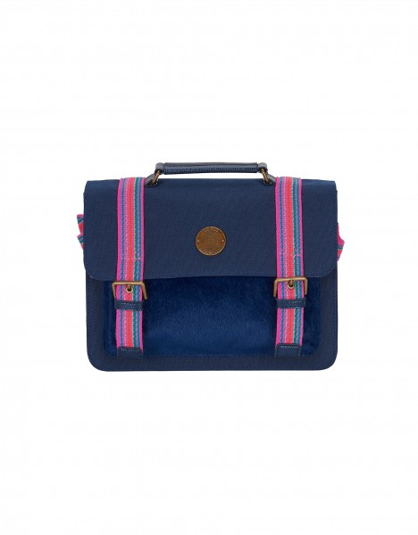 Athens shoulder bag - dark blue