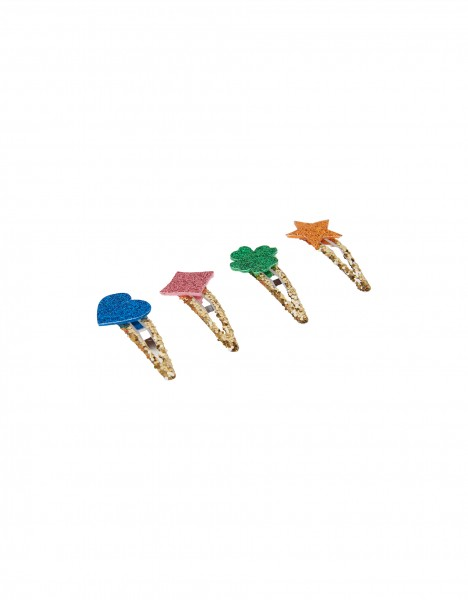 Nelise hair clips - multi
