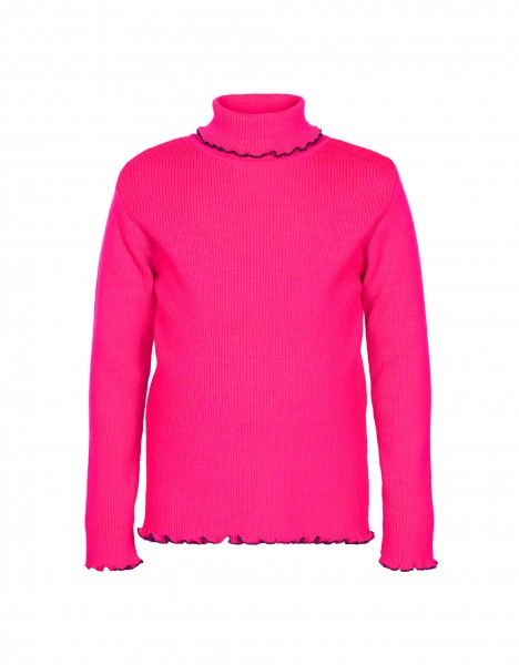 Paulette turtleneck sweater - pink