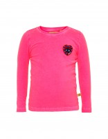 Pebbles shirt - fel roze