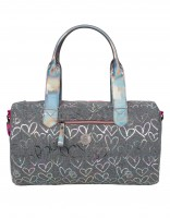 Adelaide duffle bag - grey