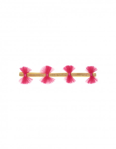 Kaila headband - bright pink