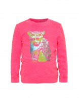 Polly sweatshirt - bright pink