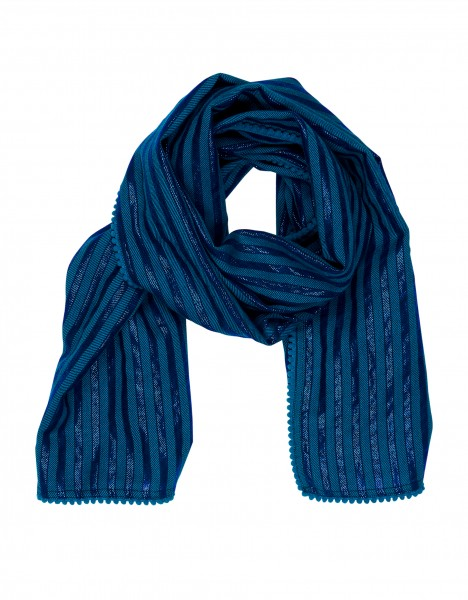 Pernille scarf - blue