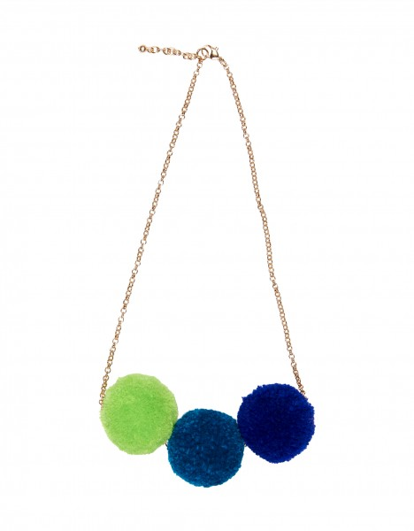 Pooky necklace - blue