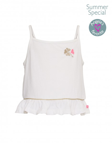 Niovi tank top - off white